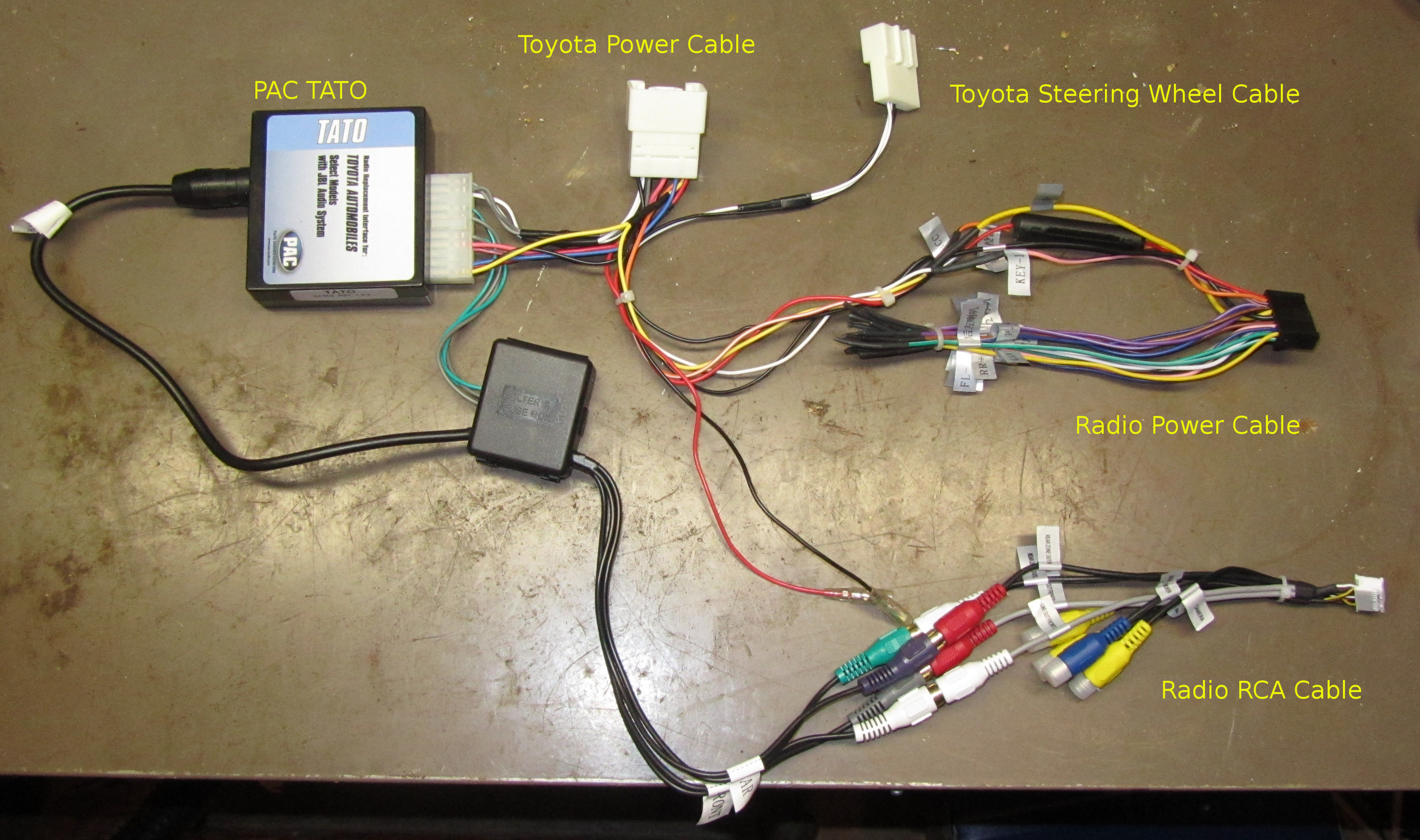 Rav4 Stereo Wiring Diagrams 2011 Diagram Android Radio Install The Treehouse Blog 2009